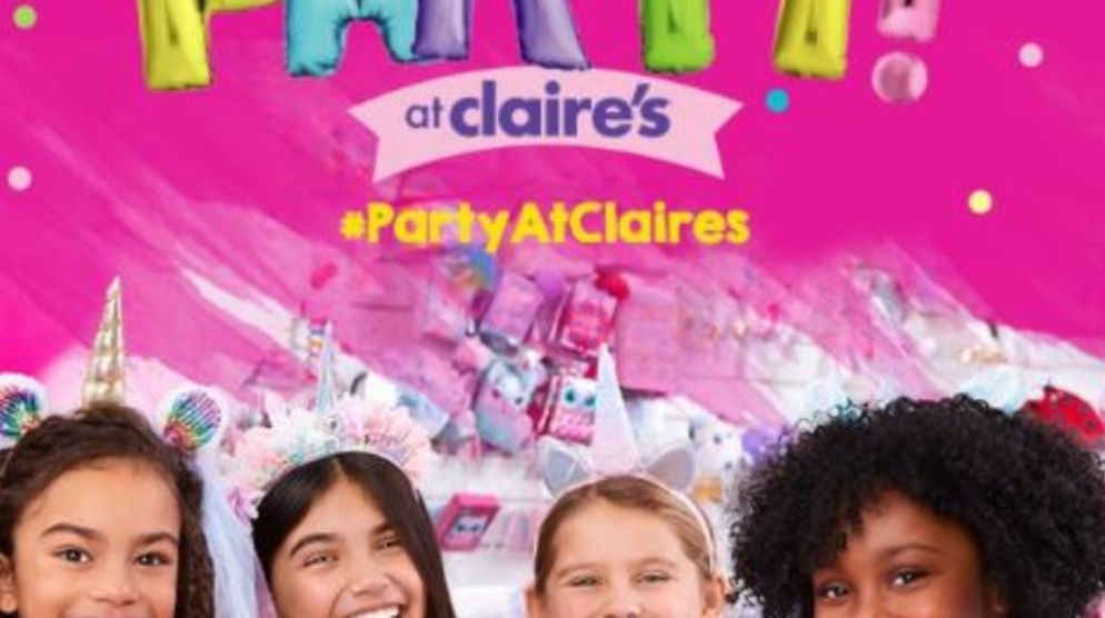 Party at Claire's