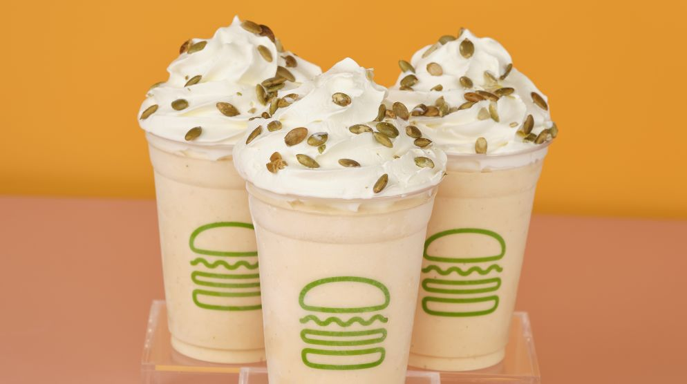 Pumpkin Shake Is Back!