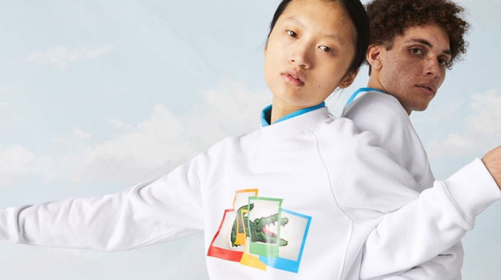 Lacoste x Polaroid Collaboration