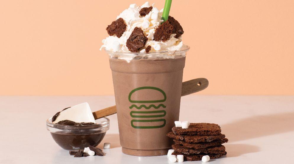 Brownie Batter Hot Cocoa Shake