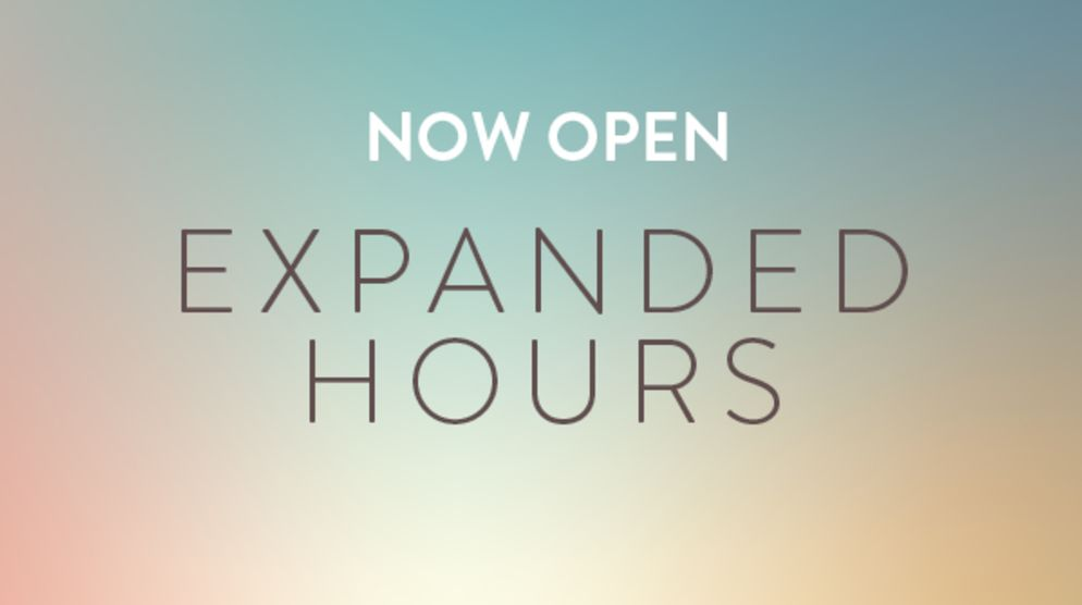 Extended Shopping Hours