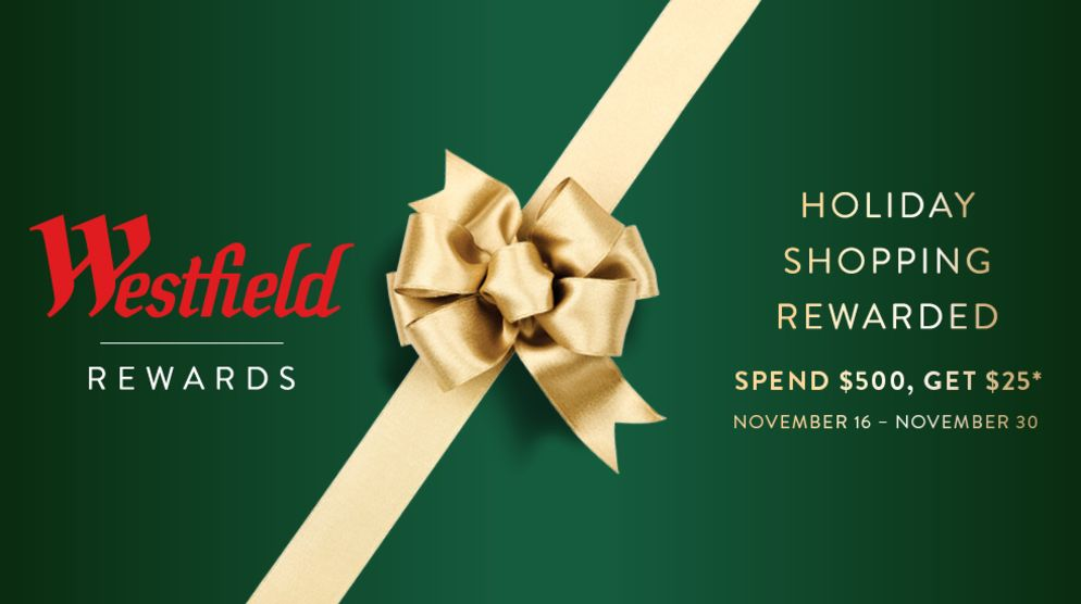 Your Holiday Shopping Rewarded