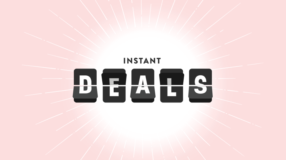Instant Deals available on the Westfield APP