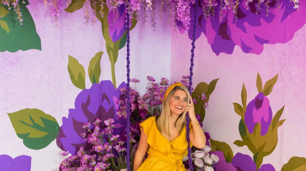 Spring in Living Color Immersive Floral Experience