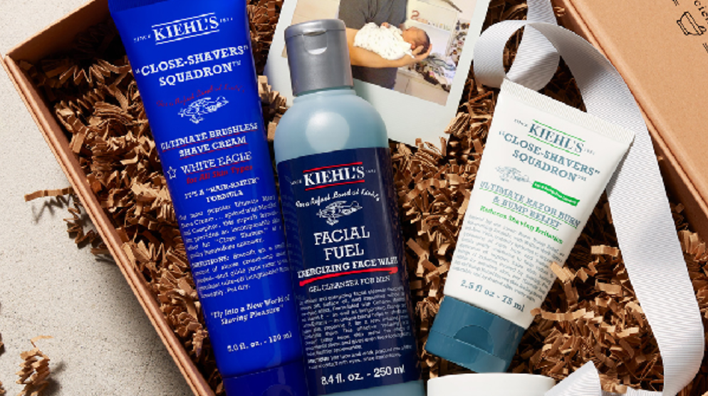 Father's Day at Kiehl's
