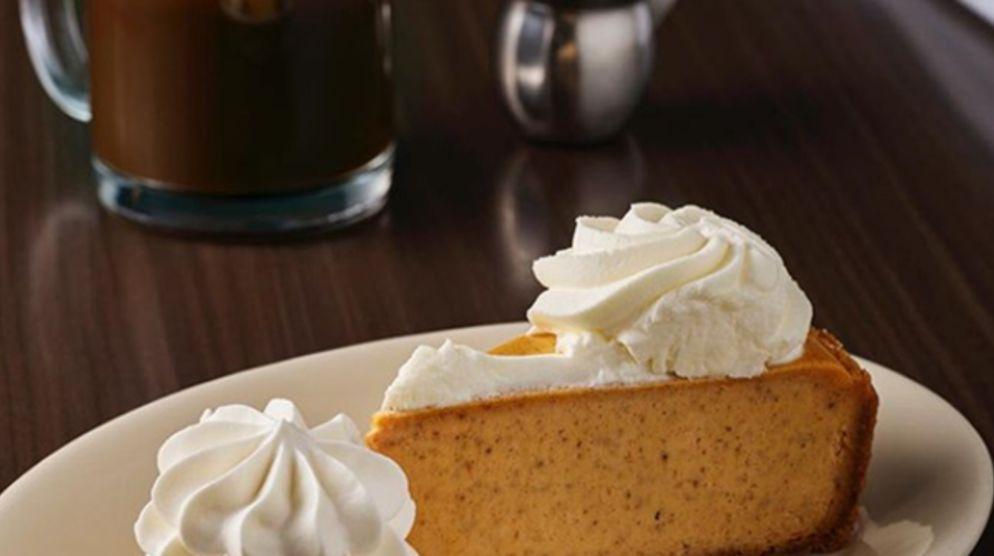 Grab a Slice of Pumpkin Cheesecake