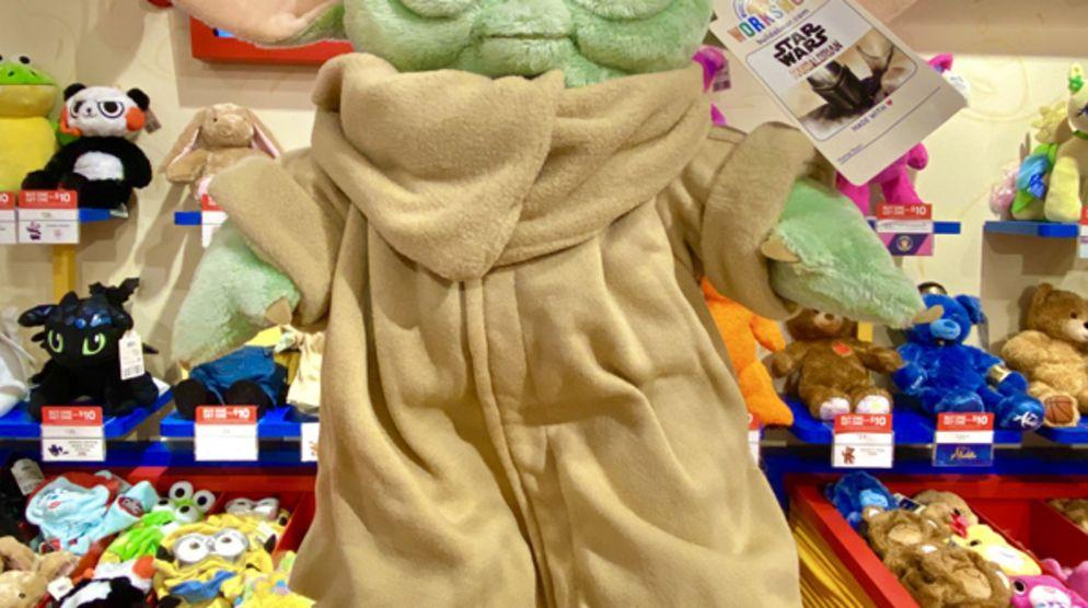 Baby Yoda at Build-A-Bear