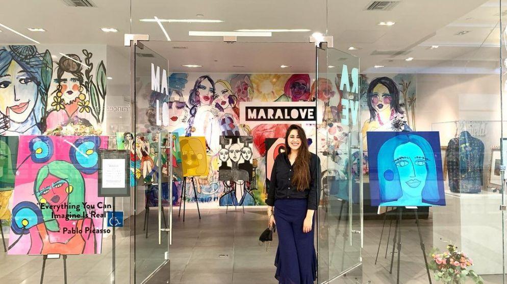 Local Artist Gallery   Mara Love Exhibition