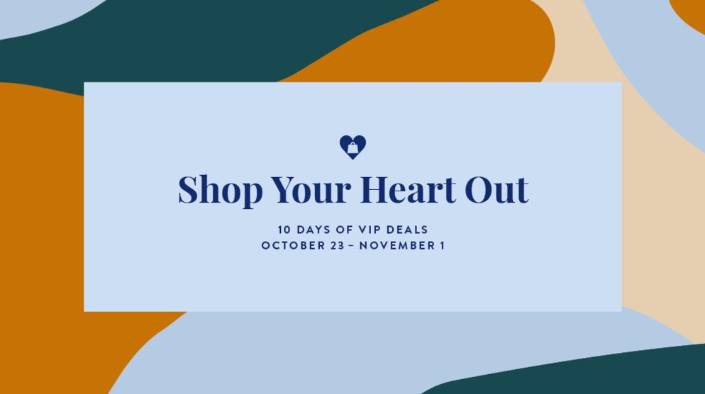 Shop Your Heart Out
