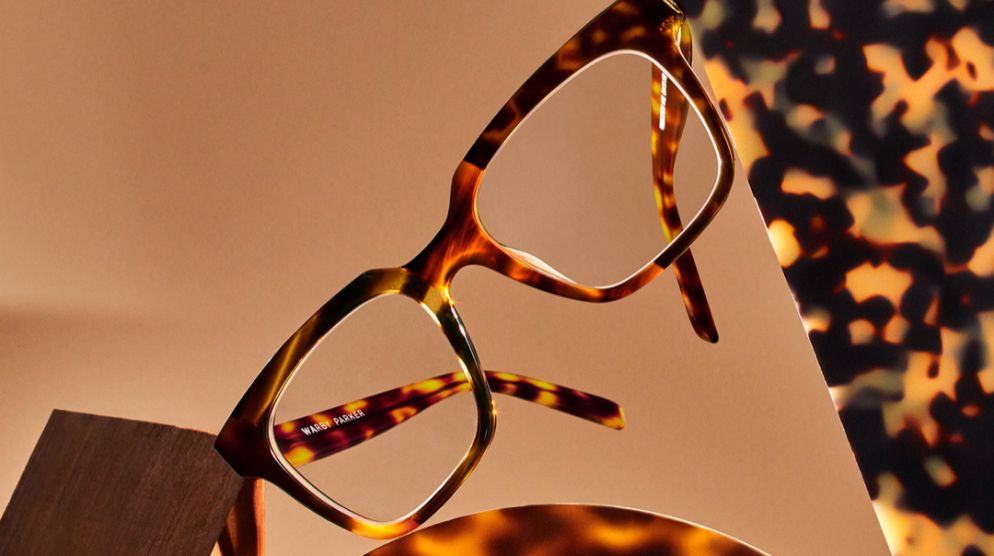 Tortoise Collage Now at Warby Parker