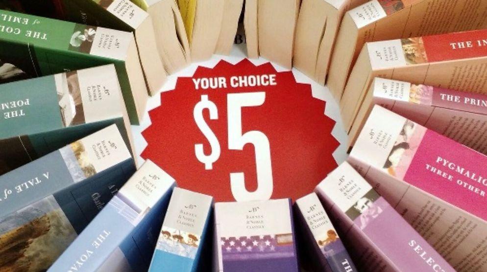 The Book Annex $5 Sale