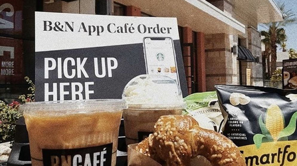 Skip the Line at Barnes & Noble Cafe