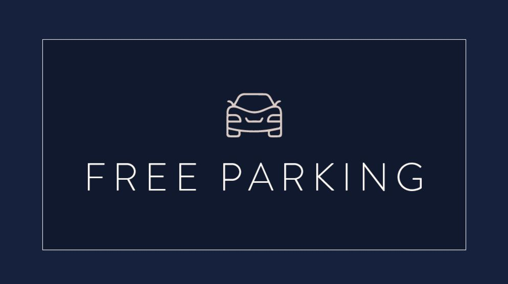 FREE PARKING WITH VALIDATION