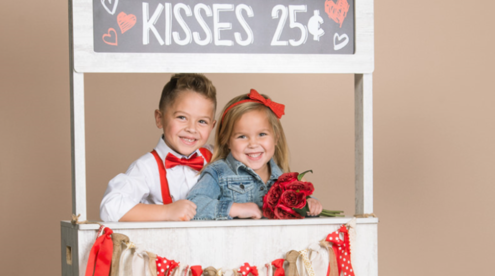 JCPenney Portraits Kissing Booth