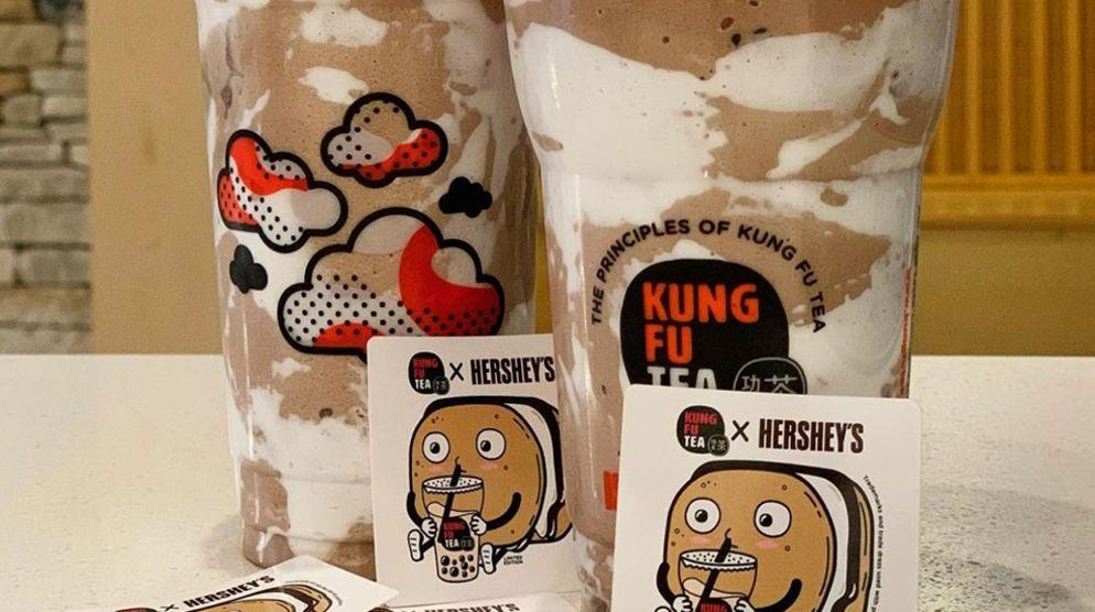 Kung Fu Tea x Hershey's Collaboration
