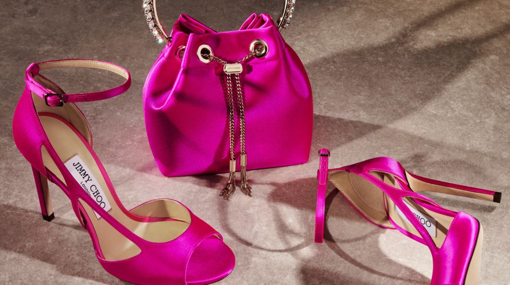 Jimmy Choo x Breast Cancer Research Foundation