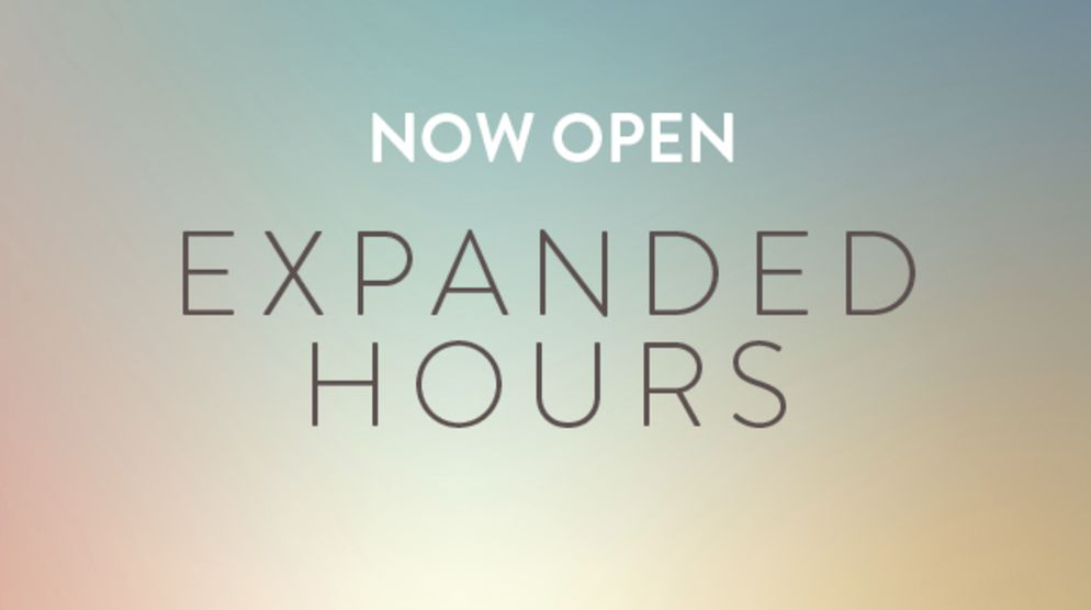 Extended Mall Hours