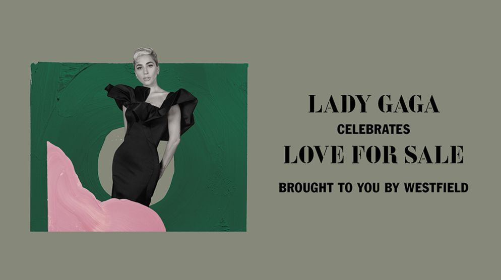 Lady Gaga's exclusive online performance, brought to you by Westfield