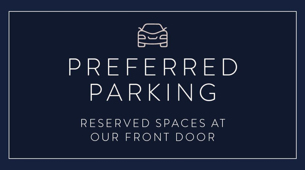 VIP Preferred Parking