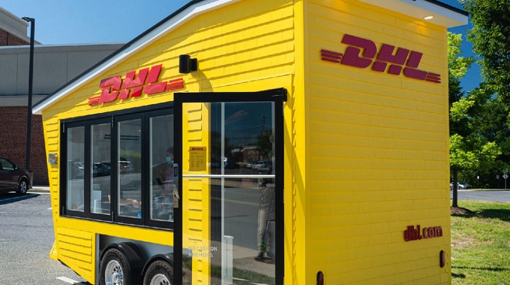 DHL  FIRST-OF-ITS-KIND MOBILE POP-UP STORE