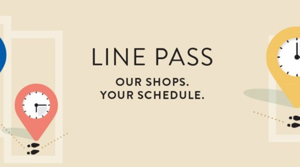 Line Pass at Westfield