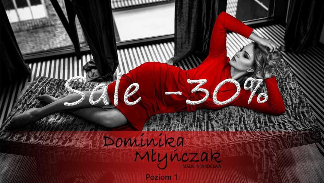 Rabat 30% w butiku Dominika Młyńczak Ottaviano