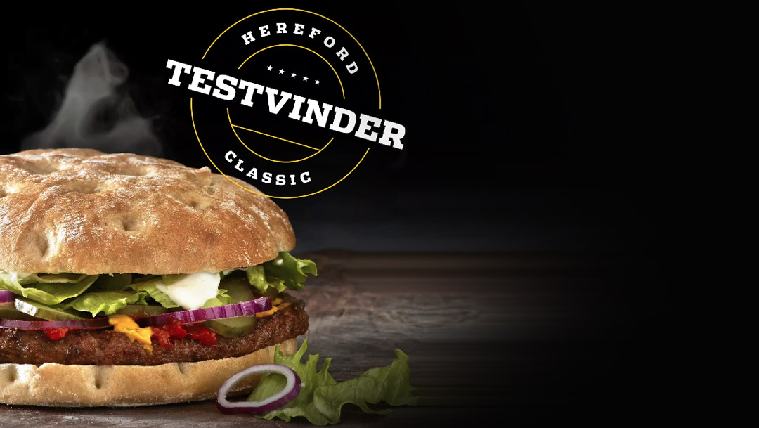 Hereford Classic burger