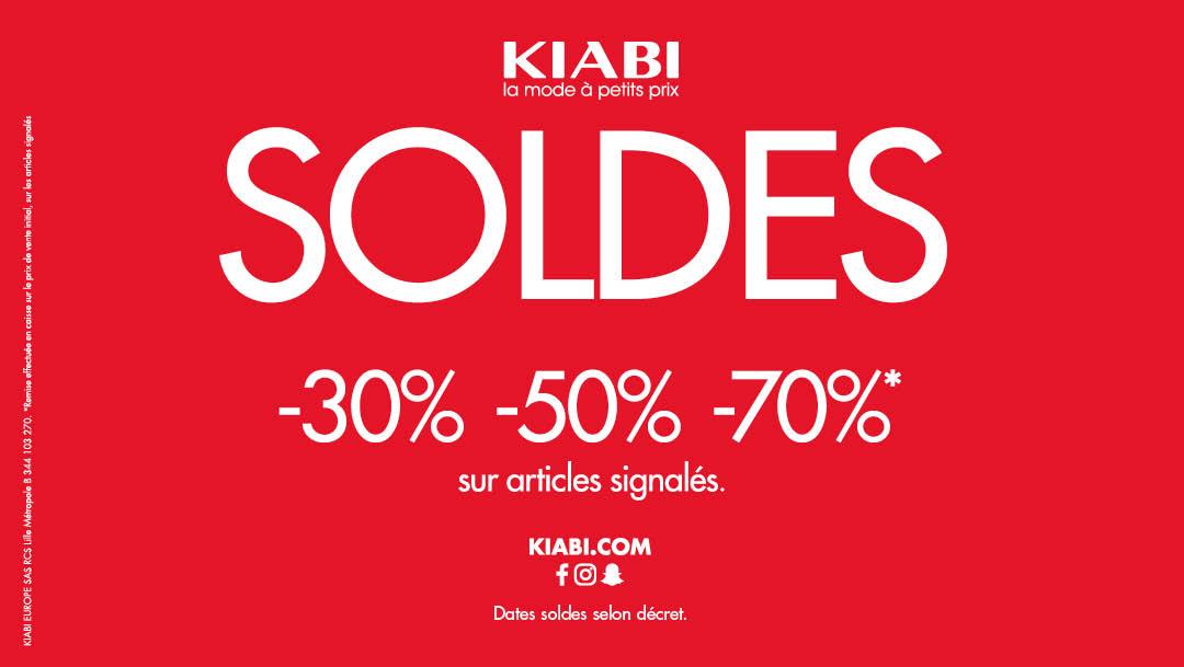Les soldes d'hiver chez Kiabi