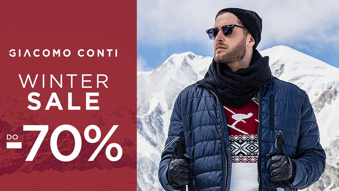 Wyprzedaż do -70% w Giacomo Conti