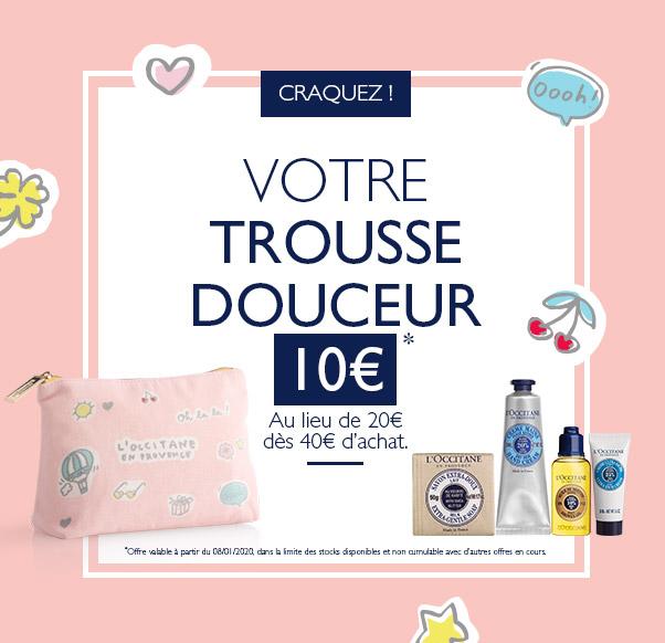 Trousse douceur L'Occitane