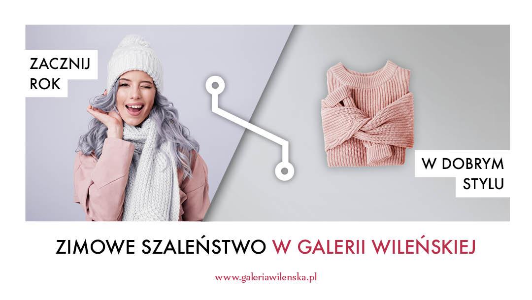 Zimowe szaleństwo w Galerii Wileńskiej