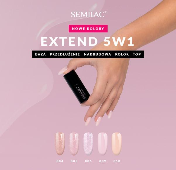 Semilac rozszerza kolekcję swojej innowacyjnej hybrydy 5w1!