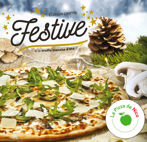 Edition limitée « La Festive » chez La Pizza de Nico