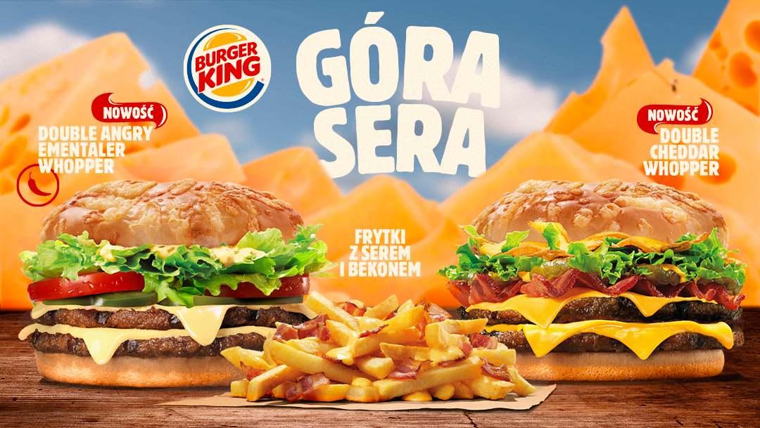Nowości w Burger King