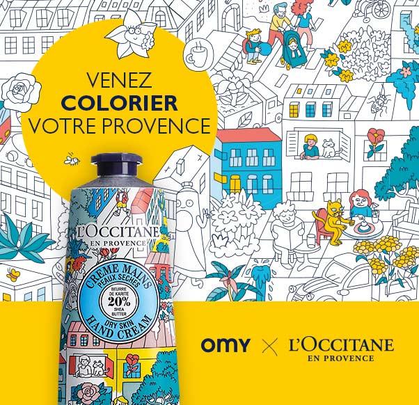 Venez colorier votre Provence