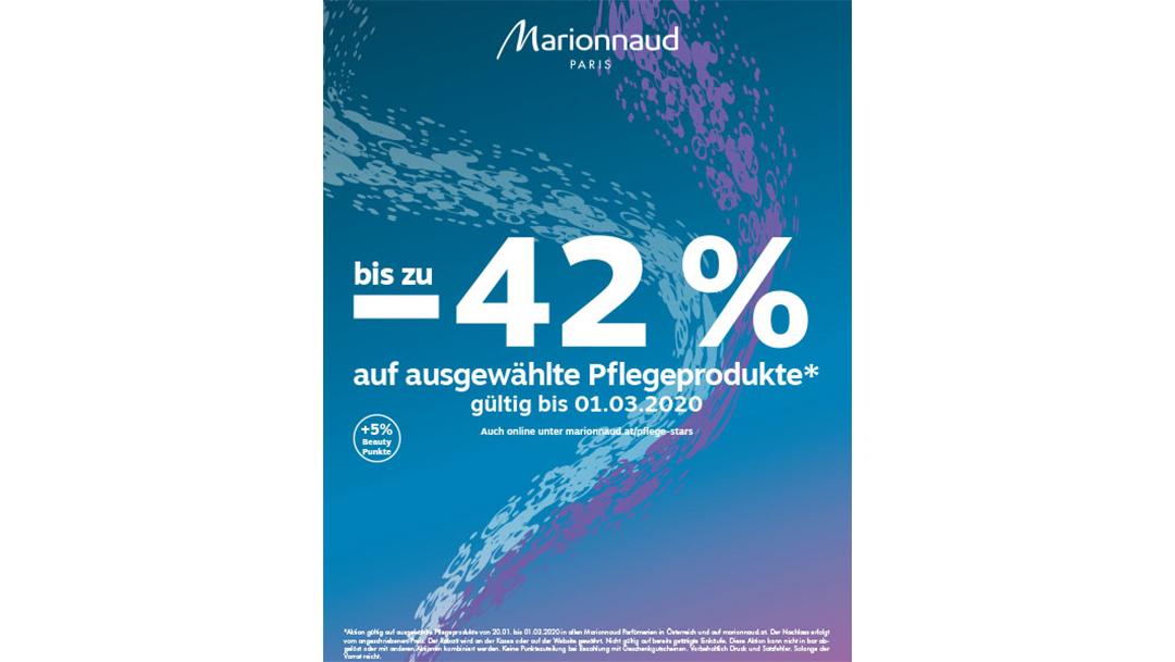 Marionnaud: bis zu – 42 % auf ausgewählte Pflegeprodukte*