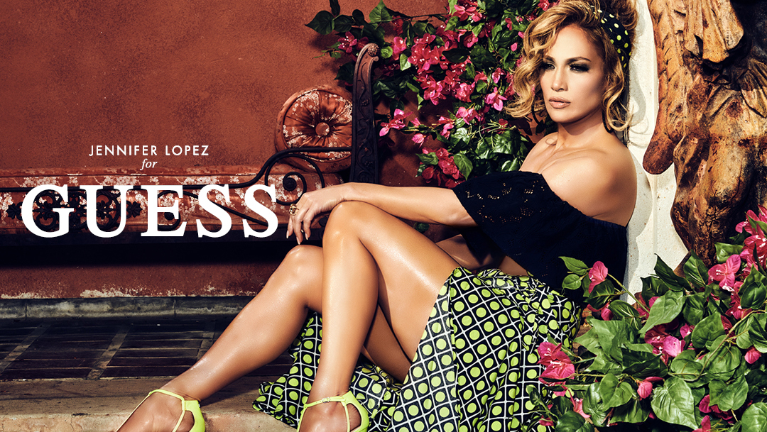 Jennifer Lopez for GUESS