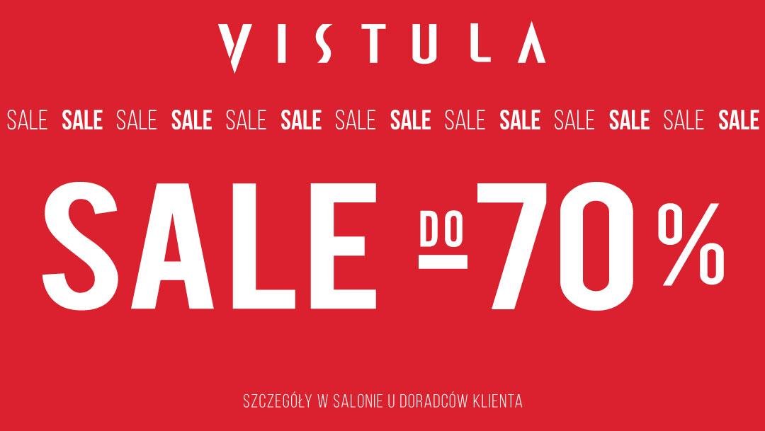 SALE do -70% w salonie VISTULA