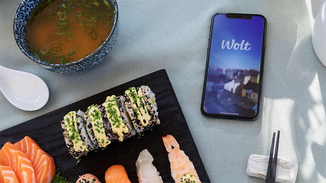 Täby Centrums restauranger levererat hem med Wolt!