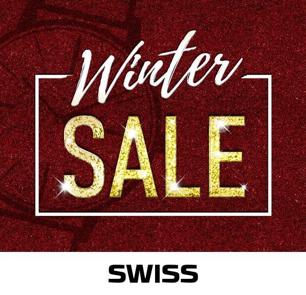 WINTER SALE w butiku SWISS!