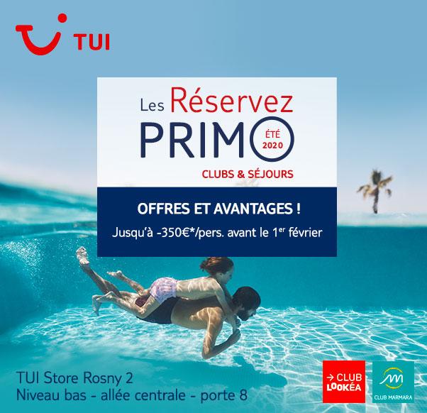 Réservez vos vacances chez TUI