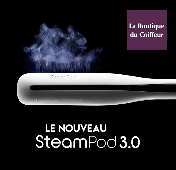 Nouveau Steampod chez La Boutique du Coiffeur