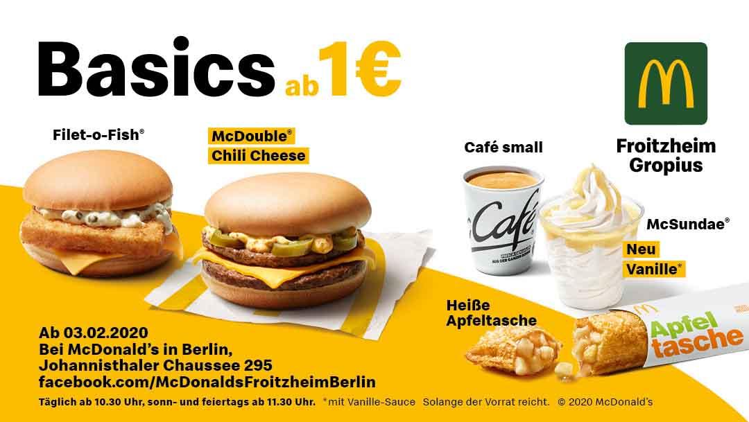 Basics ab 1€