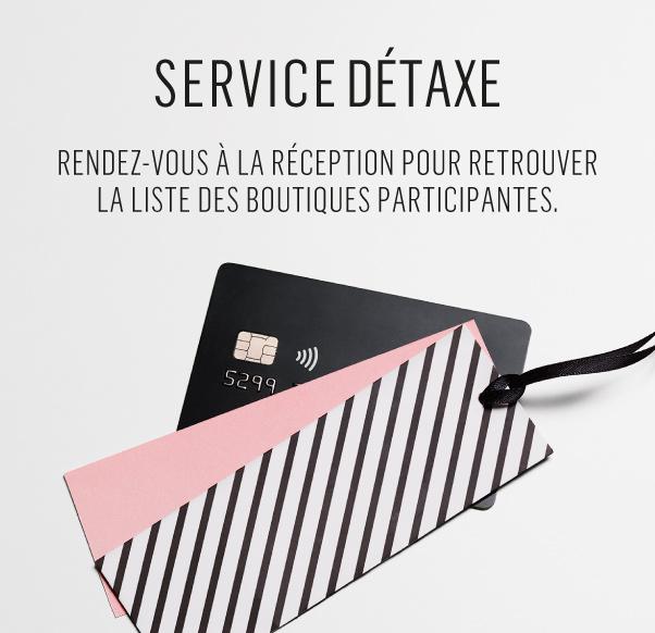 Découvrez notre service détaxe