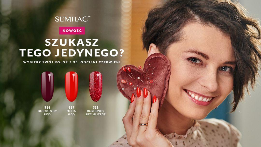 Walentynkowe nowości od Semilac