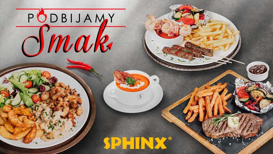 Podbijamy smak w sieci Sphinx