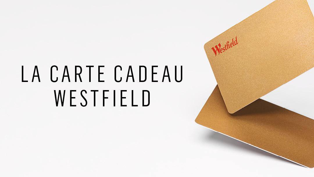 Pour les fêtes, offrez une carte cadeau Westfield Parly 2!
