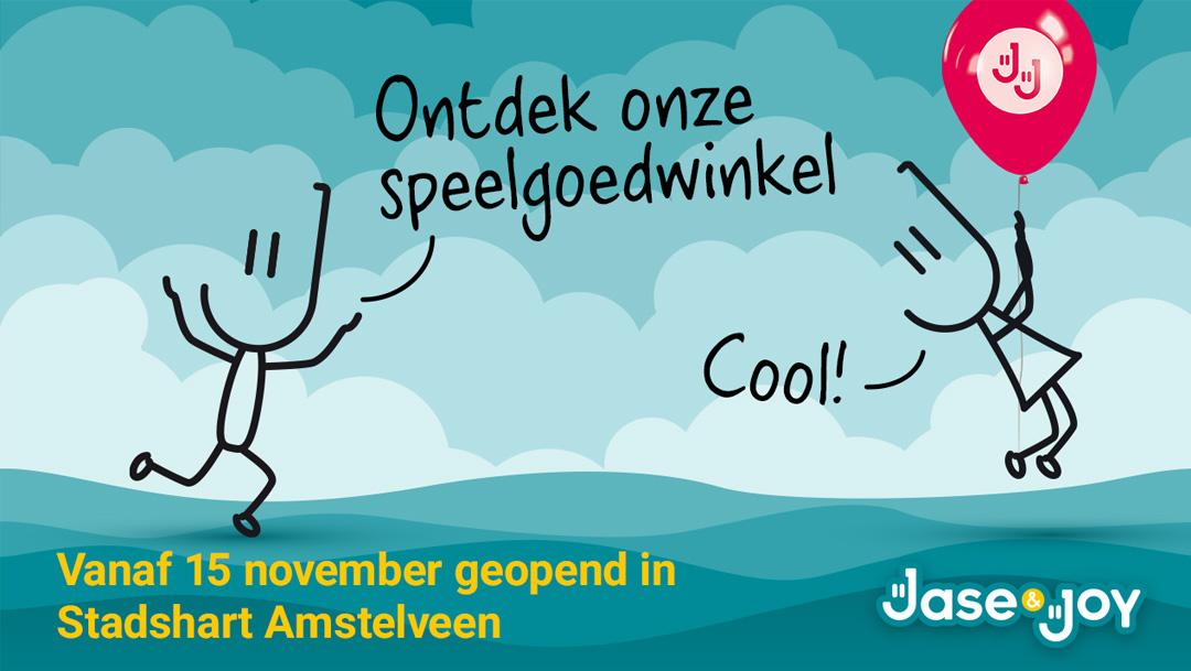 Speelgoedwinkel Jase & Joy geopend in het Binnenhof
