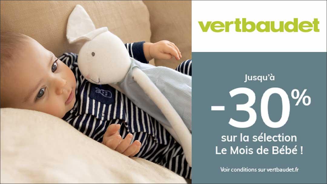 Le mois du bébé chez Verbaudet !