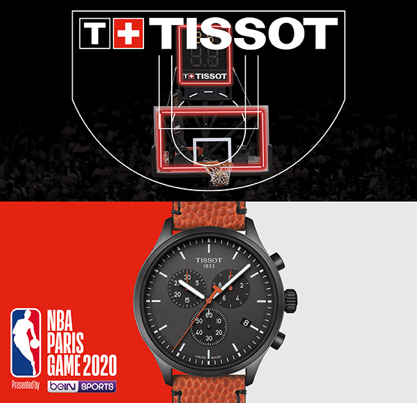 Pop-Up Tissot x NBA